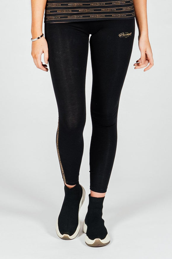 Women's Curb Legging in Black