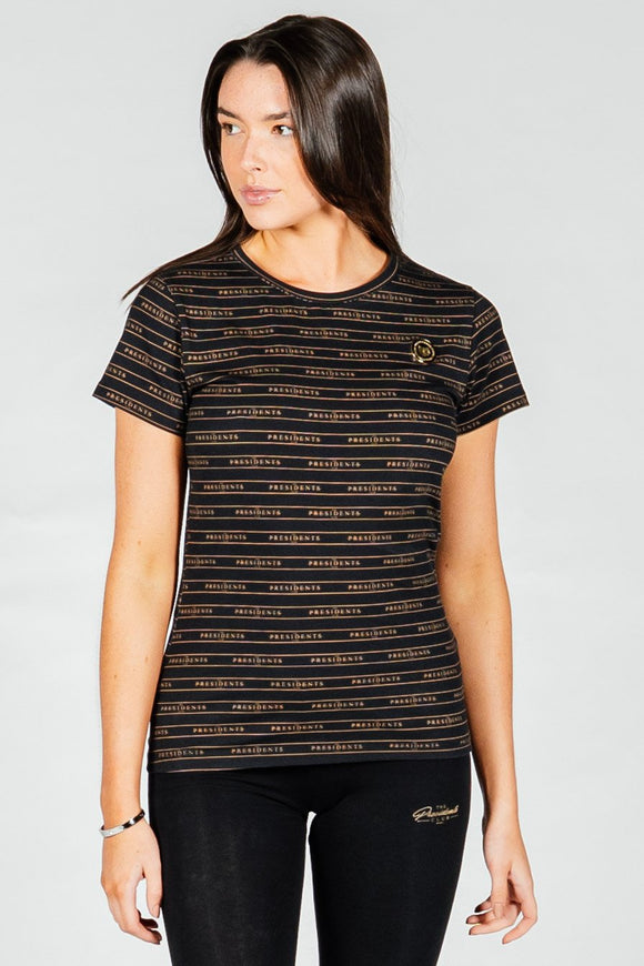 Women's Millenium T-Shirt in Black