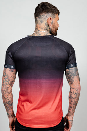 Men's Lazerfade T-Shirt in Red