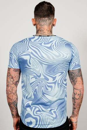 Men's Barrett T-Shirt in Blue
