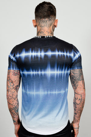 Men's Sinewave T-Shirt in Blue