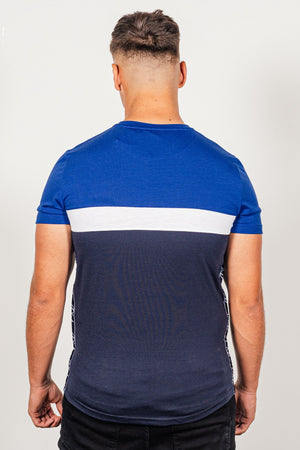 Men's Emanuel T-Shirt in Navy - DEFEND LONDON