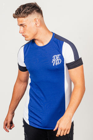 Men's Brant T-Shirt in Blue - DEFEND LONDON