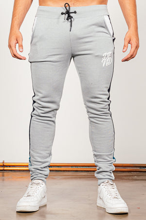 Men's Brant Tracksuit in Grey - DEFEND LONDON