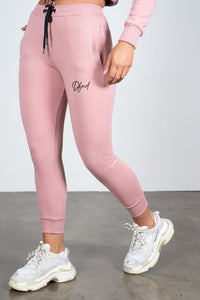 Women's Bright Joggers in Pink - DEFEND LONDON