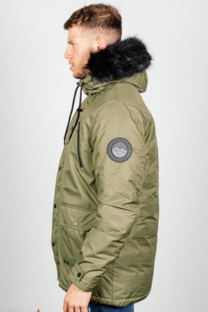 Men's Hawks Jacket in Khaki