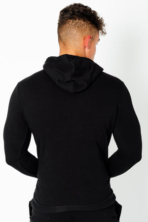 Men's Wright Two Pack Hoodies in Grey Marl & Black - DEFEND LONDON