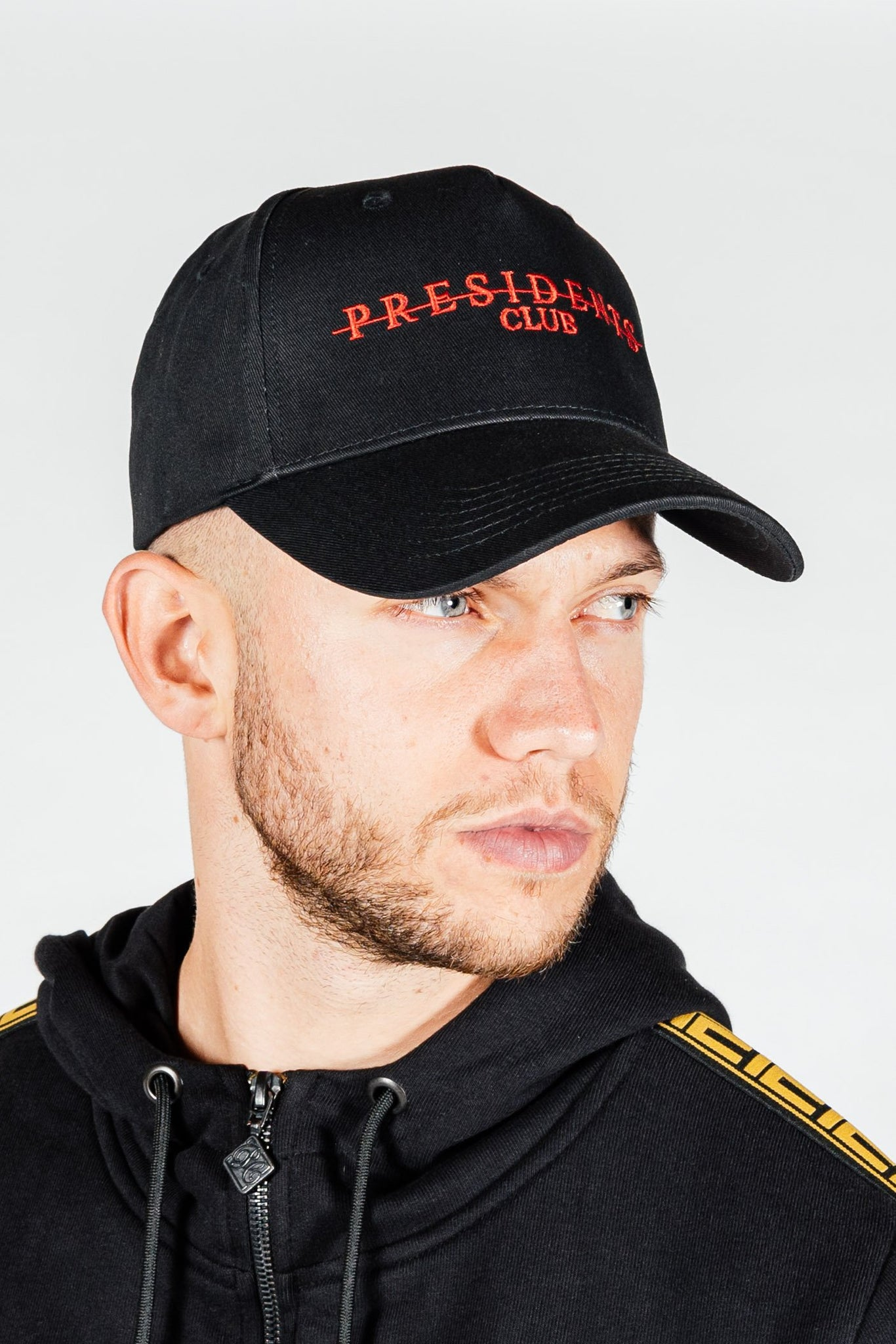 Men's Strike Cap in Black