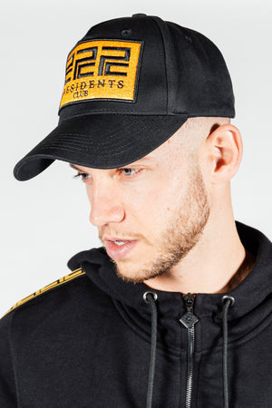 Men's Rome Cap in Black