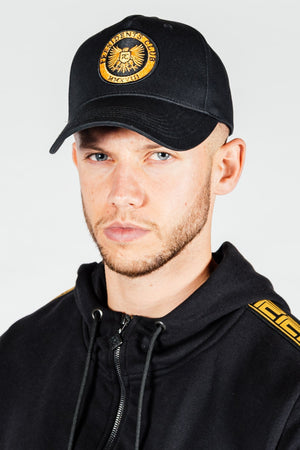 Men's Shield Cap in Black