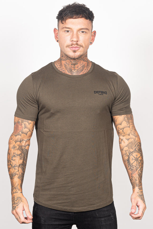 Men's Charmer T-Shirt in Khaki - DEFEND LONDON