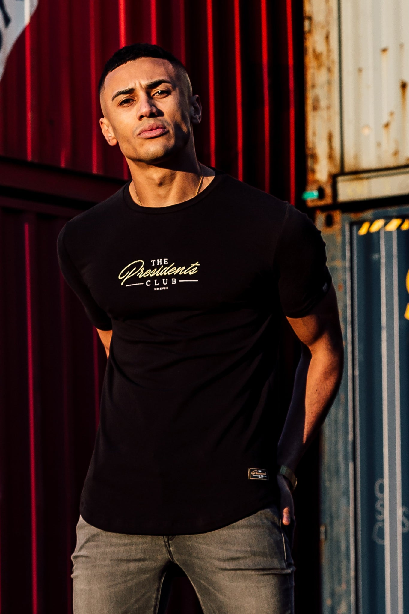 Men's Short Sleeve T-Shirt in Black