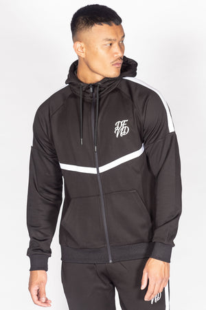 Men's Essential Tracksuit in Black - DEFEND LONDON