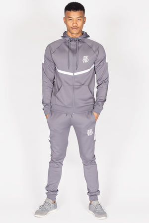 Men's Essential Tracksuit in Graphite - DEFEND LONDON