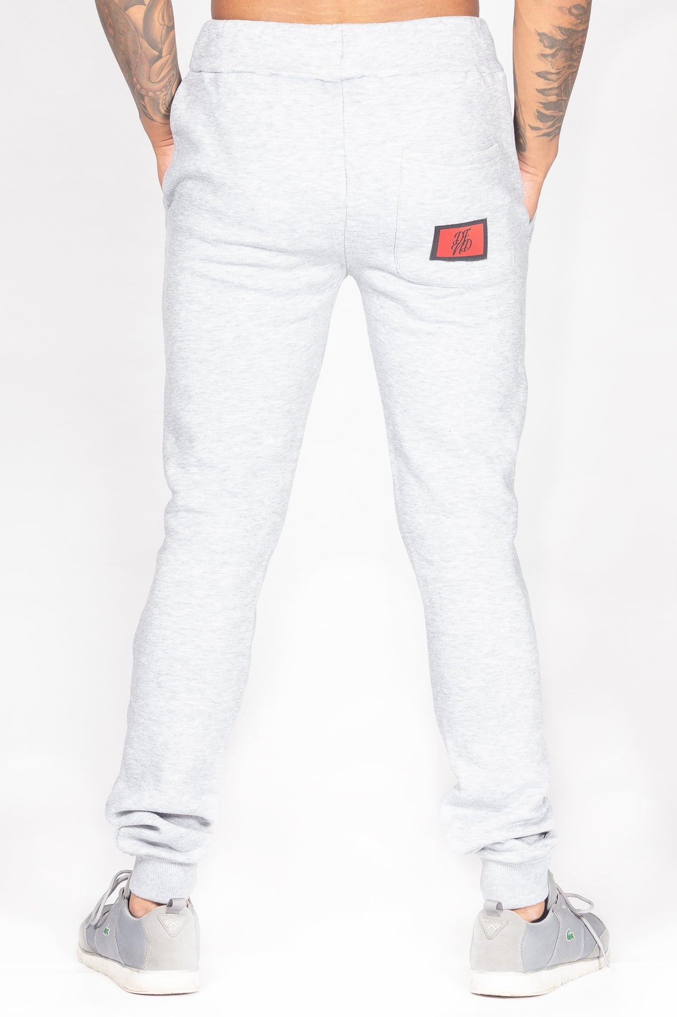 Men's Bamehurst Joggers in Grey - DEFEND LONDON