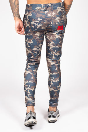 Men's Bamehurst Joggers in Camo - DEFEND LONDON