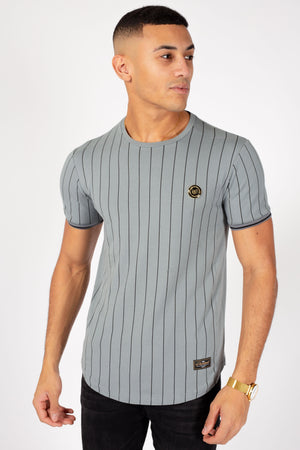 Men's Formal T-Shirt in Grey