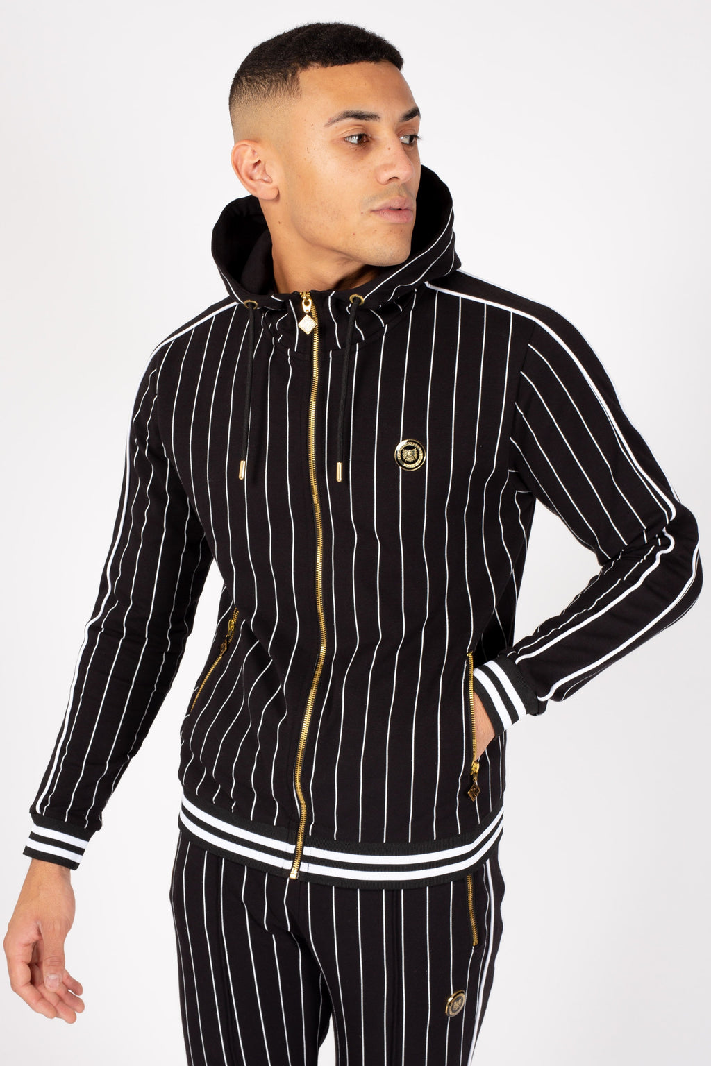 Men's Formal Hoodie in Black