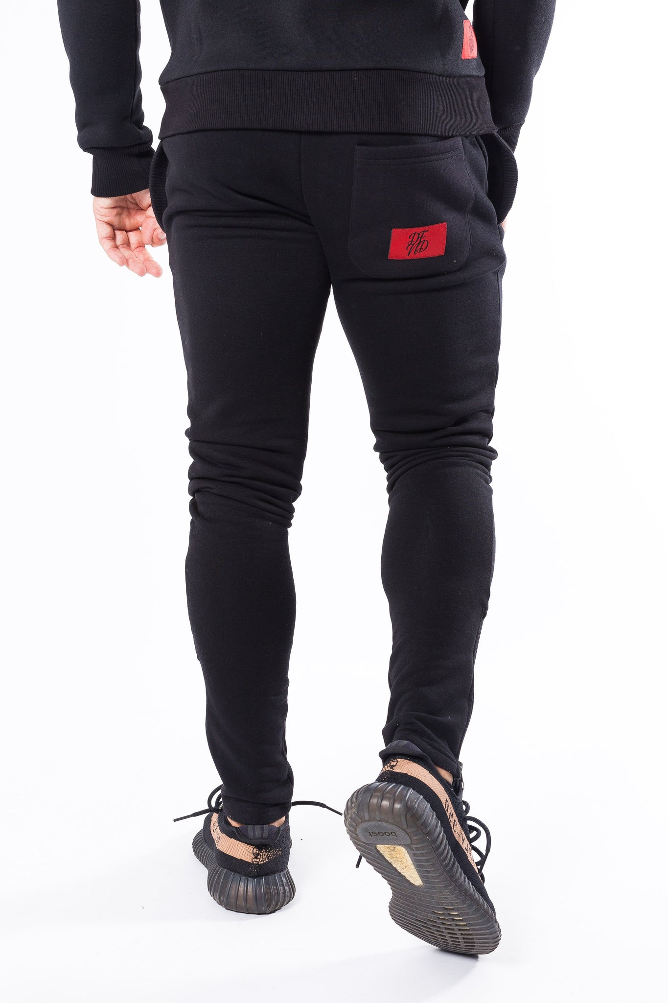 Men's Bamehurst Joggers in Black - DEFEND LONDON
