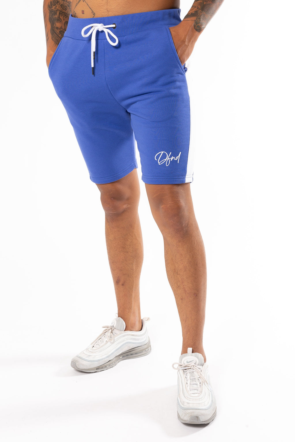 Men's Seeker Shorts in Cobalt - DEFEND LONDON