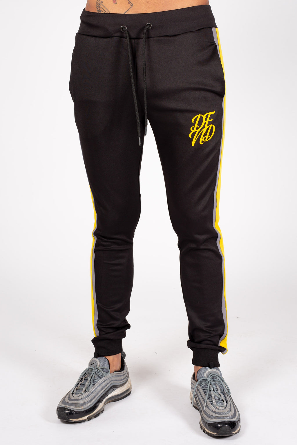 Men's Flexin Jogger in Black - DEFEND LONDON