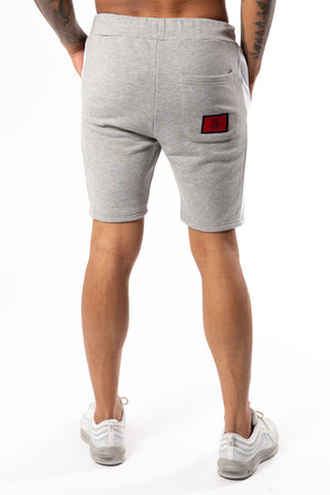 Men's Seeker Shorts in Grey Marl - DEFEND LONDON