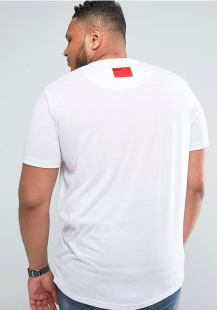 Men's Fester T-Shirt in White - DEFEND LONDON