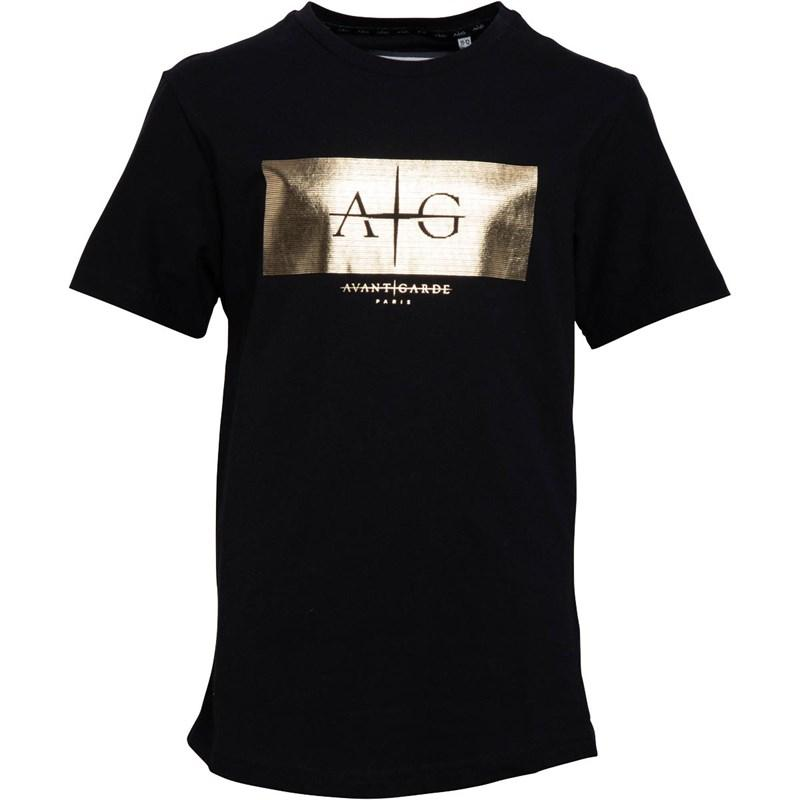 Boy's Cerrone T-Shirt in Black