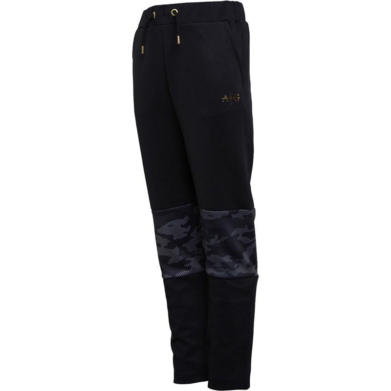 Boy's Gorgio Sweat Pants in Black