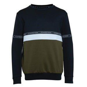Boy's Walter Sweat in Black/Khaki