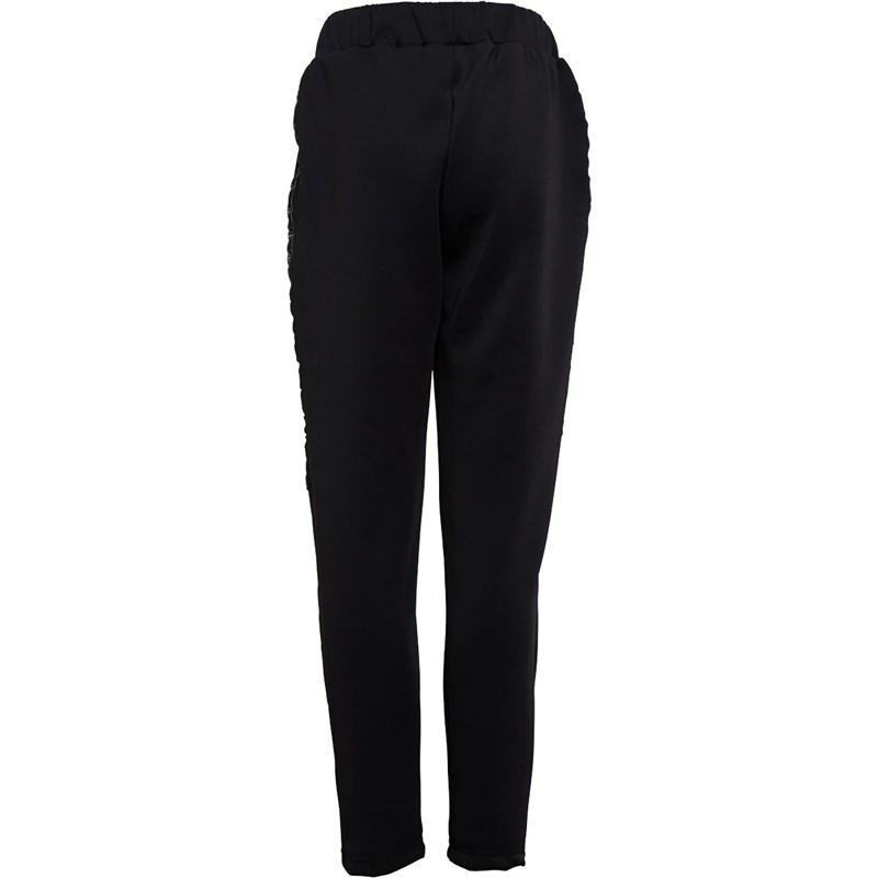 Boy's Walter Joggers in Black/Khaki