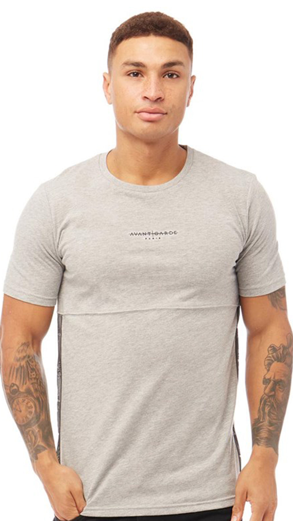Abberton T-Shirt Grey Marl