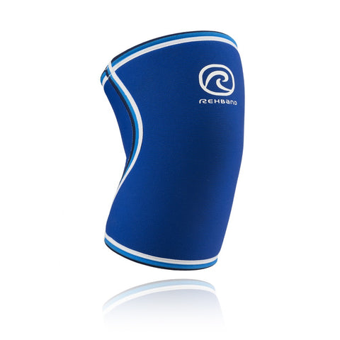 Rehband RX Original Knee Sleeve 7MM Blue - Large