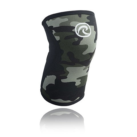 Rehband RX Knee Sleeve 5MM Camo/Black - Large