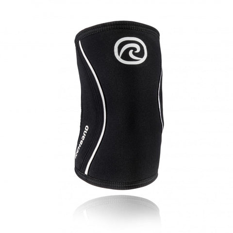 Rehband RX Elbow Sleeve 5MM Black - Medium