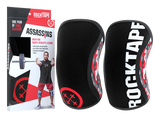 RockTape Assassins Knee Support 5MM Red Camo - Medium (Pair)