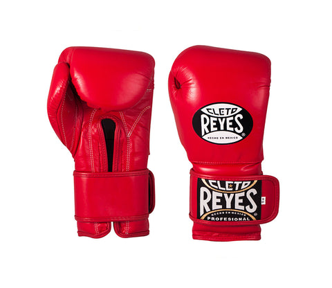 Cleto Reyes Velcro Sparring Glove - Red - 16oz
