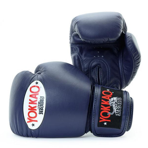 Yokkao Matrix Velcro Boxing Gloves Evening Blue - 12oz