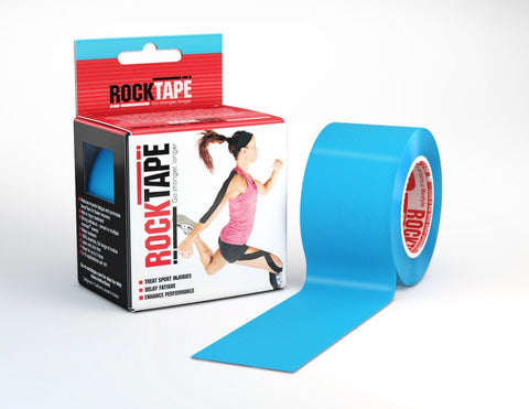 RockTape Kinesiology Tape - 5cm x 5m - Electric Blue