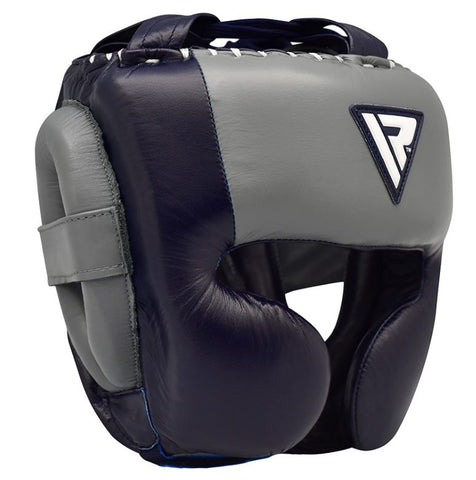 RDX O1 Professional Head Guard - Blue - Medium