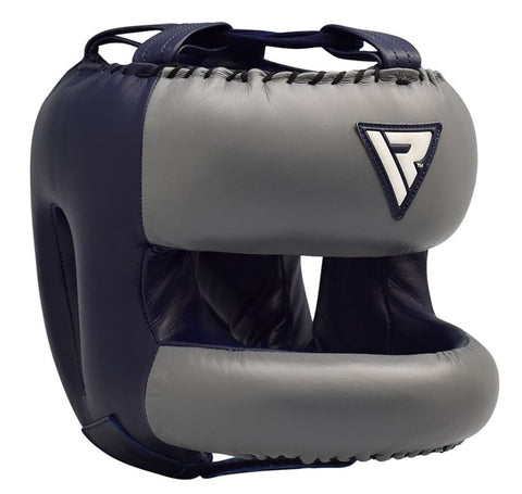 RDX O2 Professional Head Guard - Blue - Large