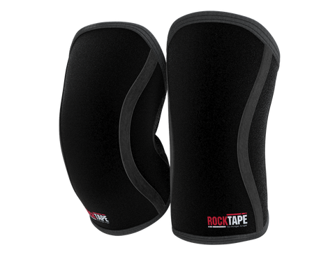 RockTape Assassins Knee Support 5MM Black - Medium (Pair)