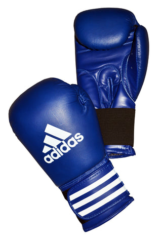 adidas Performer Boxing Gloves Blue - 12oz