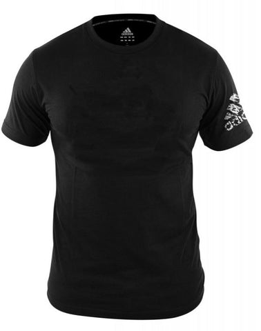 adidas Combat Logo T-Shirt Black - Small