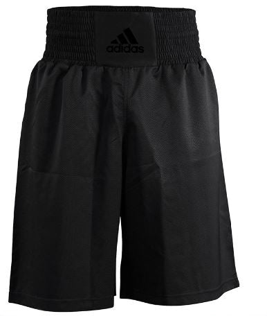 7ce7c50949 adidas Diamond Flex Boxing Shorts in Black & Gold - Small – One More ...