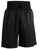 adidas Diamond Flex Boxing Shorts Black/Gold - Large