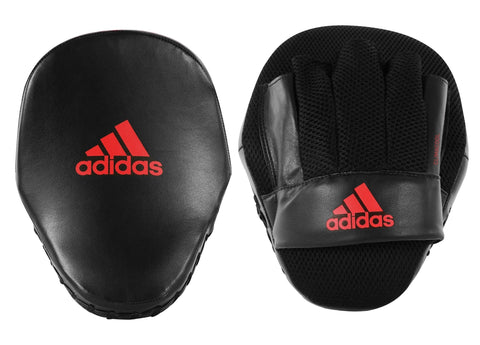 adidas Speed Mesh Focus Mitts - Black/Red