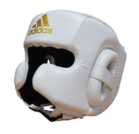 adidas Speed Head Guard White - Large