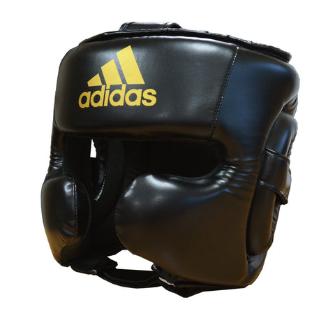 adidas Speed Head Guard Black - Large