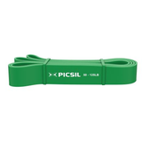 Picsil Extra Strong Resistance Band Green - 50 -125lbs